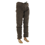 Suede pants (Brown)