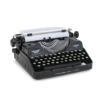 Diecast Typewriter (Black)