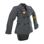 Female Helferin Uniform Jacket (Grey)