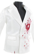Bloody Suit Jacket (White)