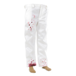 Bloody Suit Pants (White)