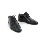 Black polisched shoes