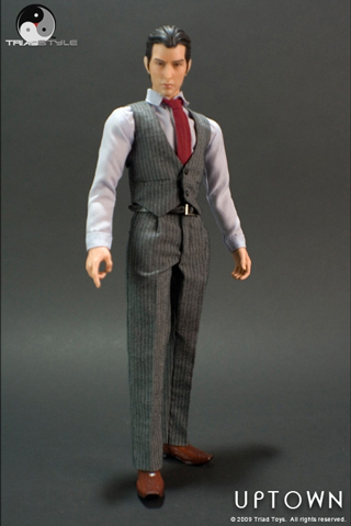 Uptown Suit Male Outfit Set (Dark Grey)