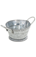 Die Cast Small Washtub (Silver)