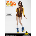 Set Roller Girl (Jaune)