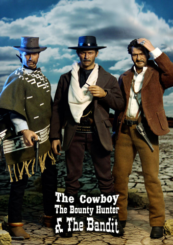Pack The Bounty Hunter - The Bandit - The Cowboy
