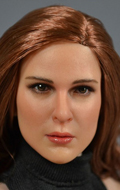 Caucasian woman headsculpt (Chestnut)