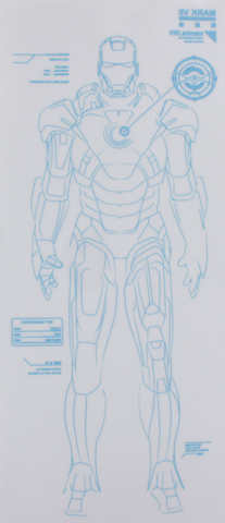 Iron Man 2 - Hologramme Mark VII