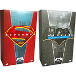 figurine Pack Batman V Superman Dawn Of Justice - Superman & Batman with Tech Cowl