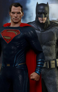 Batman V Superman Dawn Of Justice - Superman & Batman with Tech Cowl Pack