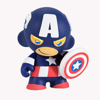 Mini Munny - Captain America