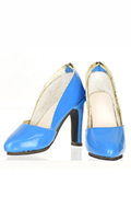 High Heels Female Catwalk Series 2 Shoes (Blue)