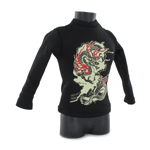 Dragon Design T-Shirt (Black)