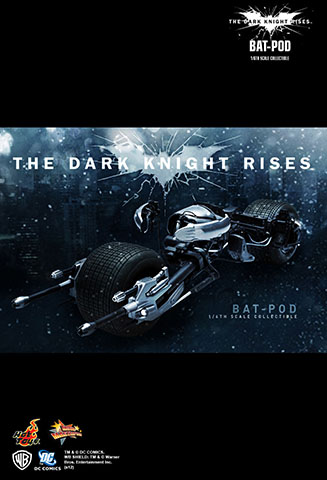 The Dark Knight Rises - Bat-pod
