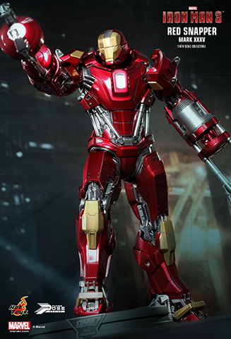 Iron Man 3 - Mark XXXV Red Snapper