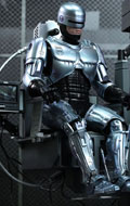RoboCop - RoboCop with Mechanical Chair Diecast