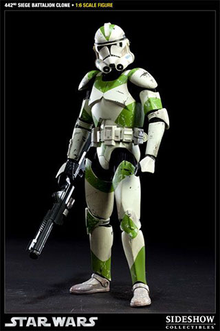 Star Wars - 442nd Siege Battalion Clone Trooper
