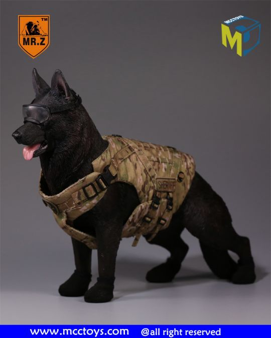 Set Tactical K9 Dog Body Armor (Multicam)