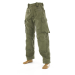 OD Tactical trousers with knee pad