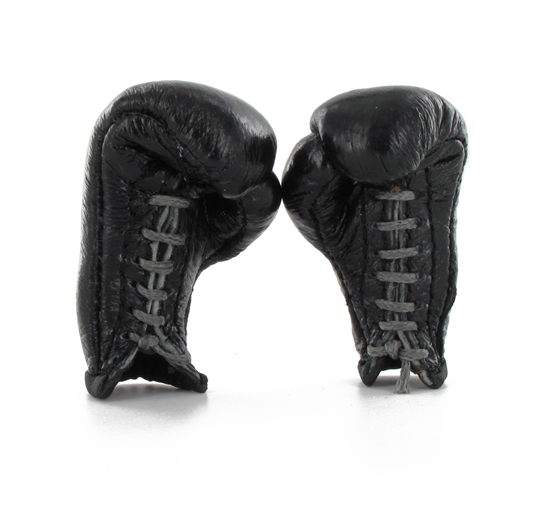 gants de boxe anglaise noir machinegun. Black Bedroom Furniture Sets. Home Design Ideas