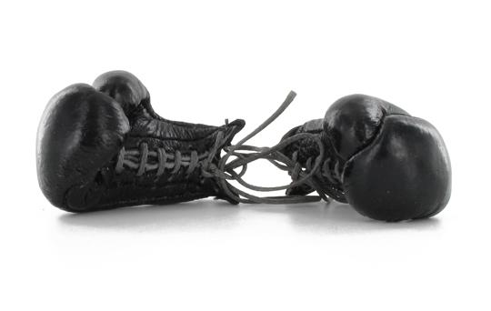 gants de boxe anglaise noir machinegun. Black Bedroom Furniture Sets. Home Design Ideas