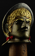 Museum Collection - Casque Roman Cavalry Die Cast (Deluxe Edition)