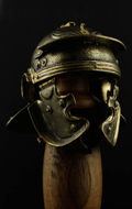 Museum Collection - Casque Roman Imperial Gallic Model H Die Cast (Bronzed Version)