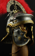 Museum Collection - Centurion Roman Imperial Gallic Model H Die Cast Helm (Silver Version)