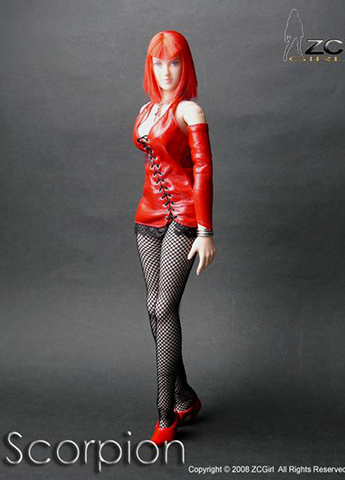 Scorpion Female Set (Red)