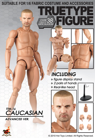 True Type Figure - Caucasian Advanced Version