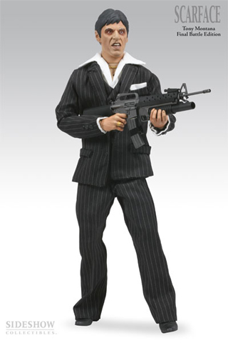 Scarface - Tony Montana Final Battle Edition (Black)