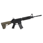M4 rifle with ACS stock