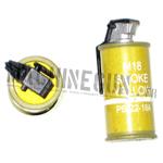 Grenade fumigène jaune