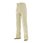 Cream suit trousers