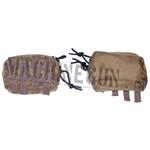 Mud Rectangular Utilities Pouch with Zipper Top
