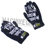 Mechanix black zebra Gloves