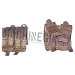 Mud Double M4 & Quad Pistol Magazine Pouch