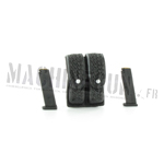 Beretta 92 magazines and double ammo pouch