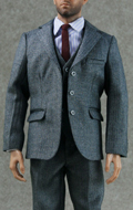 Set costume Select Homme (Gris)