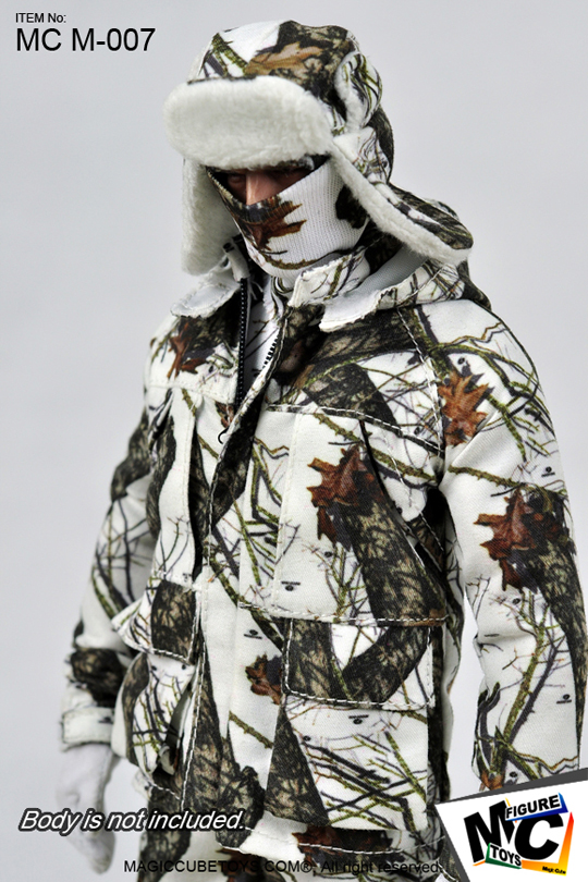 MOSSY OAK - Winter Camo Outdoor Suit