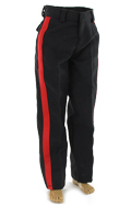Pantalon tenue de parade Officier USMC (Noir)