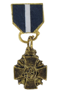 Navy Cross en métal