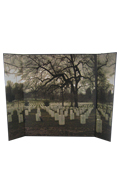 US Cemetery Diorama Background