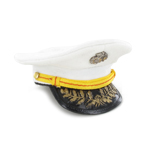 USMC Officer Cap (White)