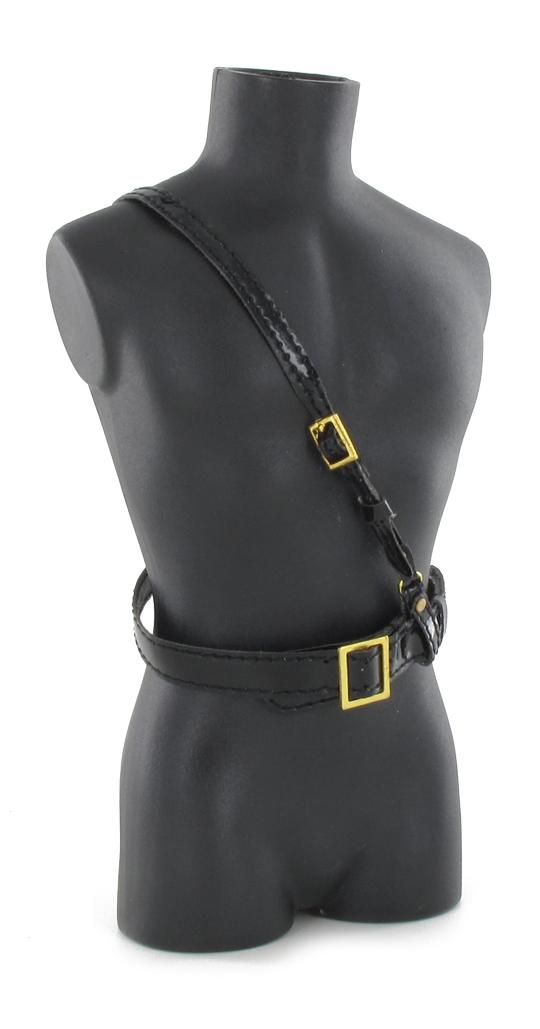 usmc sam browne belt black