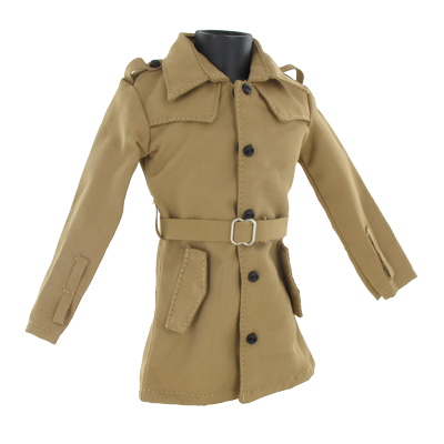 Veste Trench Coat (Beige)