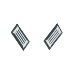 Infantry Collar Tabs (White)