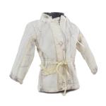 Veste matelassée réversible 1er hiver (Blanc)