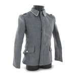 Fliegerbluse Md 40 Officier (Gris)