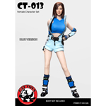 Set Fantasy Fighting Girl Femme (Bleu)